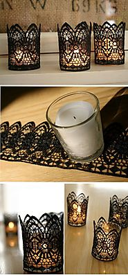 DIY Creative Candles | The Budget Decorator