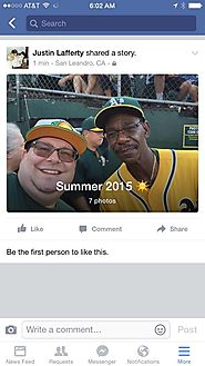 Facebook Prompts Users to Share Summer 2015 Story Post Format (Photos)