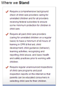 Child Care Aware of America Advocacy Network | New HHS Rules