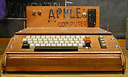 Apple with the Apple 1