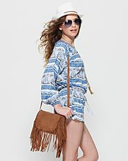 Boho Free Spirit Bag - Tan