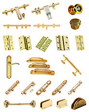 Building Designers Utilized several Brass Building Hardware To Construct The House