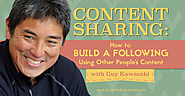Content Sharing: How to Build a Following Using Other People's Content