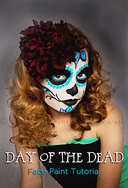 Day of the Dead Face Paint Tutorial - Kleinworth & Co