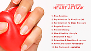 Top 10 health tips to prevent heart attack