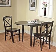 Drop Leaf Kitchen And Dining Tables For Small Spaces