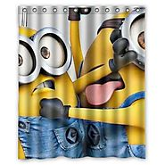 Despicable Me Minions shower curtain