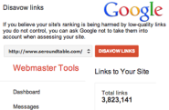 Have Links To Disavow? Google Says Google Webmaster Tools Link Report Is Enough?