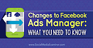 Changes to Facebook Ads Manager: What You Need to Know