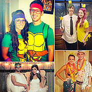 Couples Halloween Costumes For Wearing On Halloween