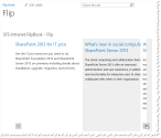 Flip book WebPart for SharePoint 2013 and SharePoint 2010 - Ashok Raja's Blog