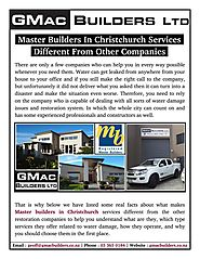 Some Real Facts About What Makes Master Builders In Christchurch
