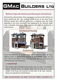 Find Out Different Ideas About Architectural Housing In Christchurch