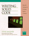 Writing Solid Code (Microsoft Programming Series)