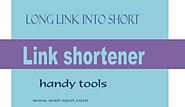Great link shortener services - Wall-Spot