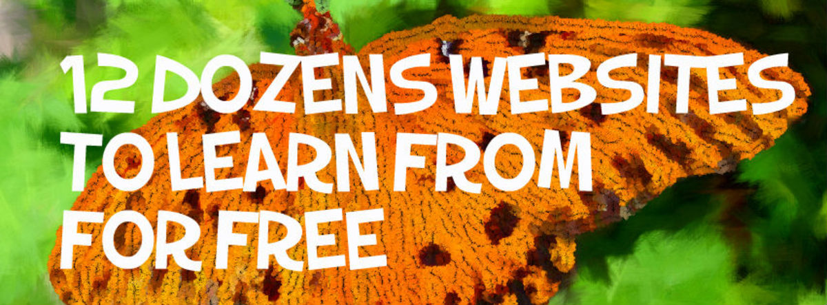 Headline for 12 Dozen Places to Educate Yourself for FREE