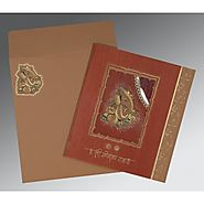 Traditional Hindu Wedding Cards | W-2145 | 123WeddingCards