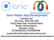 Improve Your Cross Platform Mobile App Experience With Ionic Mobile App Development