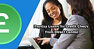 payday loans no credit check from direct lender