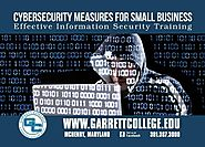 Garrett College Continuing Education & Workforce Development offers important programming for small businesses throug...