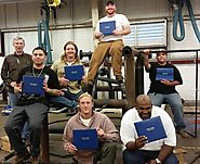 Galveston College- Continuing Education saw eight students graduate its fast-start pipefitting program