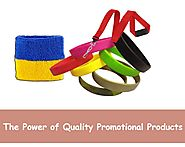 The Power of Quality Promotional Products -
