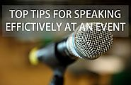 Top Tips for Speaking Effectively at an Event - Ribbonworks Lanyards