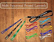 Multi-Functional Printed Lanyards