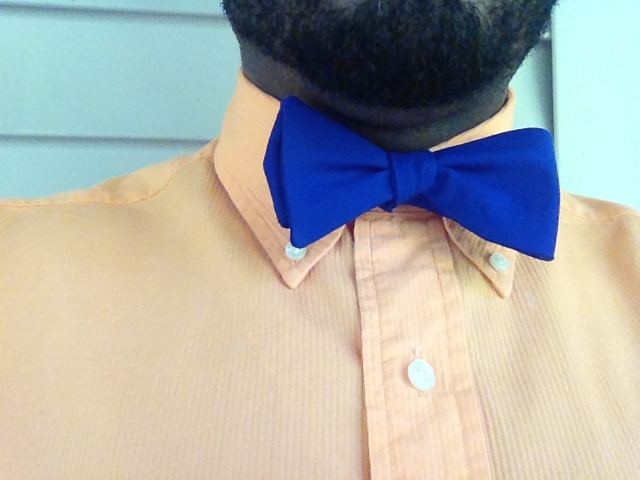 Headline for The Bow Tie Naming Rights Contest (Royal Blue)