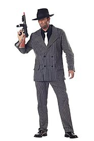 Gangster Halloween Costumes For Mens