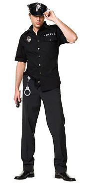 Police Halloween Costumes For Mens