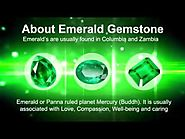 Benefits of Emerald or Green Gemstone Ring