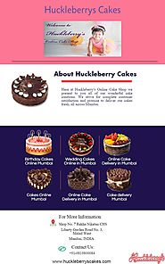 Online Cake Delivery in Mumbai-Huckleberrys Cakes