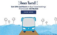 Paytm OCTBUS50 Bus Ticket Coupon code - 50% Cashback - Sitaphal