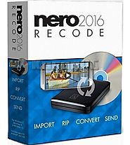 Nero Recode 2016 Crack & Patch Free Download - ShareWarez