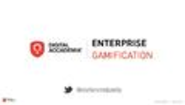 Enterprise Gamification