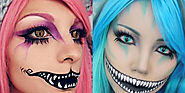 Beauty: 7 Incredible Cheshire Cat Makeup Tutorials That Take Halloween to the Next Level