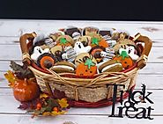Halloween Goodie and Gift Basket at Portland, Oregon