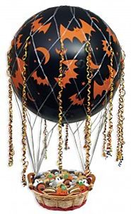 Halloween Hot Air Balloon and Halloween Goodies - Portland, Oregon