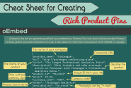 [Cheat Sheet] How To Make Rich Pins From Your Own Products