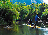 Bamboo Rafting Nature Tour
