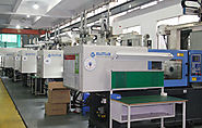 Haitain Injection Molding Machine Line inside the factory No.1 of Bluestar Mould Group