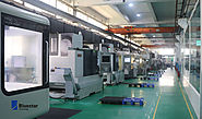 CNC machines inside Bluestar Mould Group's factory