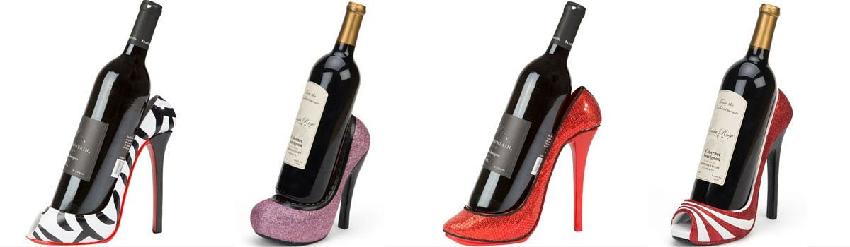 Headline for Cute And Best Rated High Heel Wine Bottle Holders