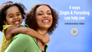 Single & Parenting: Single-parent support groups, ministry & parenting tips