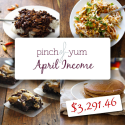 Making Money from a Food Blog - Pinch of Yum