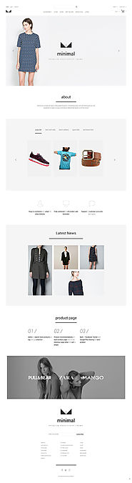 Urban Clothing PrestaShop Theme
