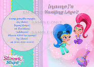 Birthday party ideas for kids: Shimmer and Shine Birthday Theme Party Ideas and Supplies