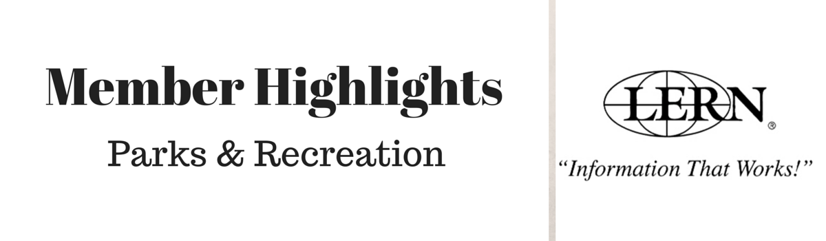 Headline for LERN Recreation Member Highlights - Oct. 9