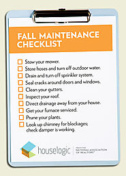Fall Maintenance Checklist